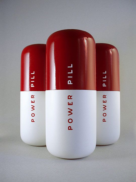 Energy Drink Power Pill