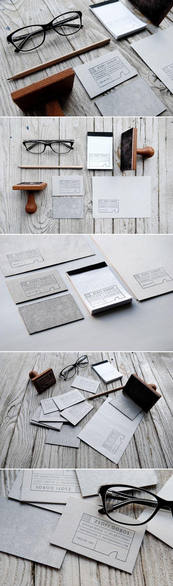 Unique Branding Design, Zsofi Dobos #branding #design (http://www.pinterest.com/aldenchong/)