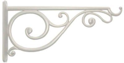 "Amazon.com : #85014 14"" White Victor Bracket : Plant Hooks & Hangers : Patio, Lawn & Garden"