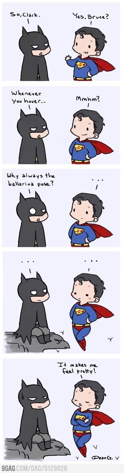 Batman and Superman at it again...