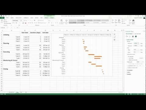 how to create a chart in excel 2007