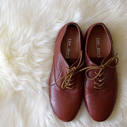 Made By Mee + Co | Reddish-Brown Leather Shoes