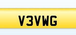 Volkswagen Personalised Number Plate/ Private Number Plate for Volkswagen Car  | eBay