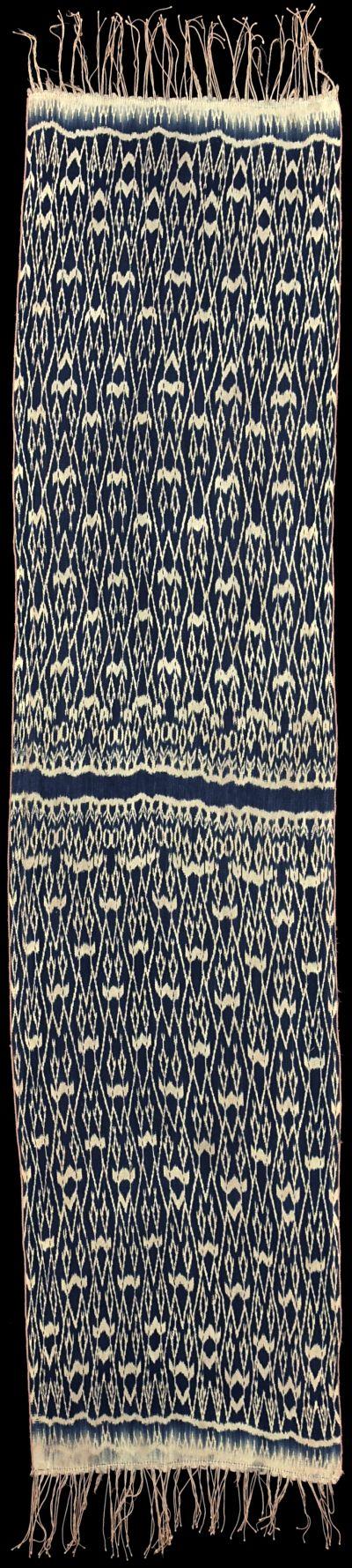 Ikat from Timor-Barat, Timor, Indonesia, 1930 - 1940.
