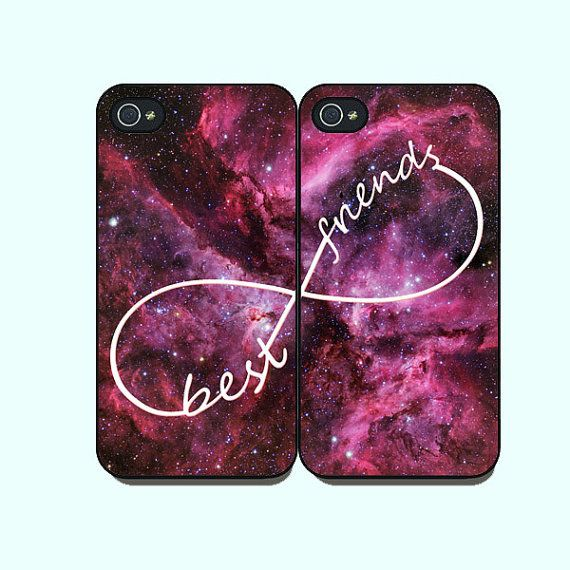 Galaxy Best Friends in pairs, iPhone 5 case, iPhone 4 case, ipod case, Samsung galaxy s3 case ,galaxy s4 case, galaxy note 2 case, infinite