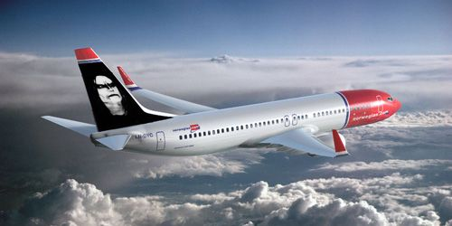 oystein aarseth on Norwegian Airline Tailfin. (How it COULD have looked like)