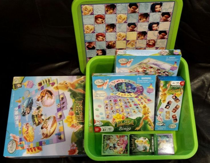 Disney Tinkerbell Game and Puzzle Lot | Toys & Hobbies, TV, Movie & Character Toys, Disney | eBay!