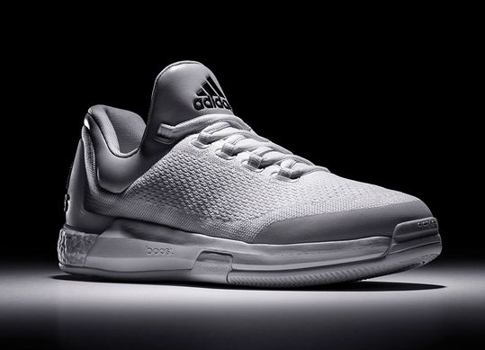 Latest Adidas Shoes Released: 2015 Adidas Crazylight Boost Triple White Limited Edition