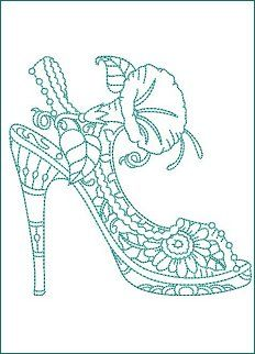 185 best Shoes Coloring Pages for
