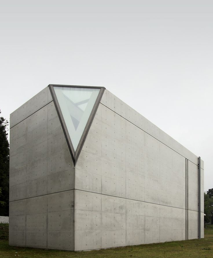 Tadao Ando. A small difference on a simple shape can make a world of difference.