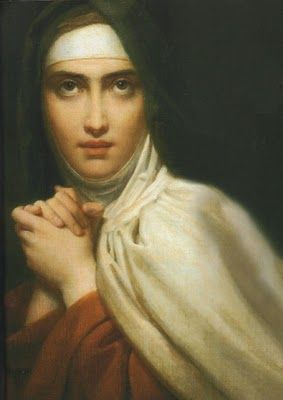 """St. Teresa of Avila (1515-1582) entered an order of contemplative Carmelite nuns despite strong opposition from her father. She suffered greatly from illness, and is remembered as a great mystic who wrote of how God desires to be found within the """"interior castle"""" of every soul. She is one of only three female Doctors of the Church."""
