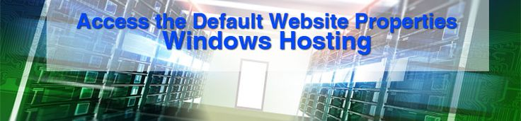 From the start menu, point to Programs, Windows NT Option Pack, Microsoft Internet Information Server, and then click Internet Service Manager.  In the left pane, double-click the IIS mode. In the right pane, double-click the computer name node. Right-click Default Web site and then click Properties.