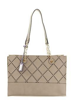 Laura Jones Perforated Shopper