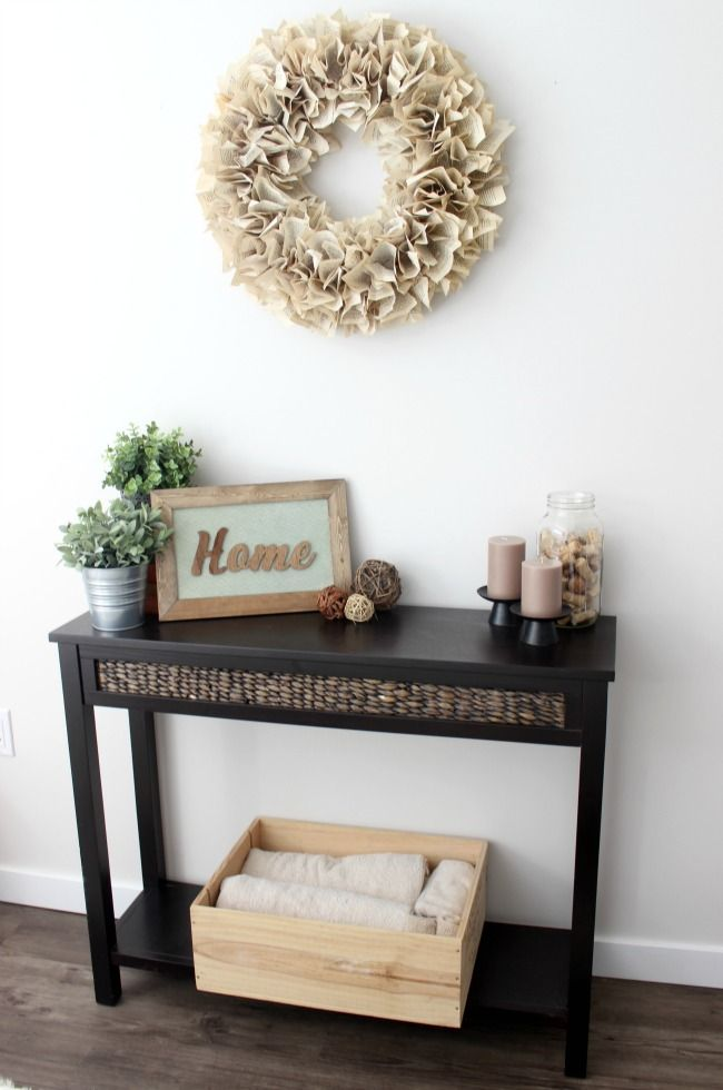 How To Make Your Own Wood Sign Rustic Wood Home And