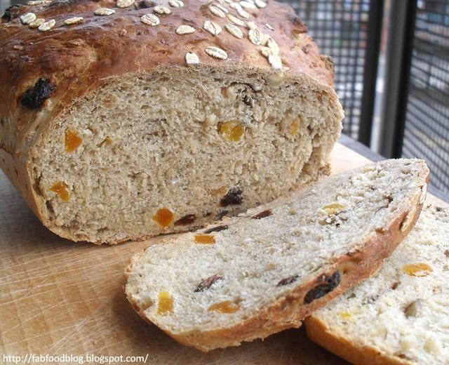fab · food · blog [en français]: Pain du petit déjeuner au muesli et aux fruits secs