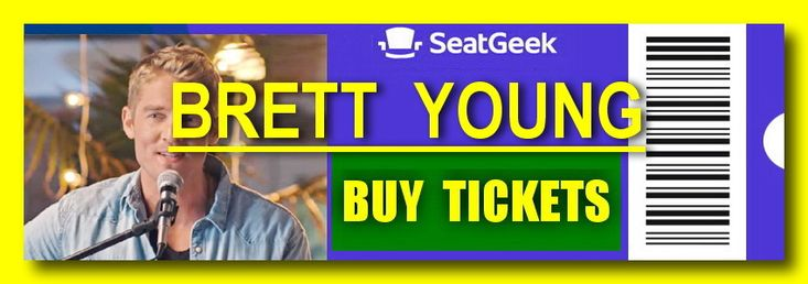 Brett Young - The easiest way to buy concert tickets (seller – SeatGeek). Tour 2018 - Tickets and Tour Schedule.
