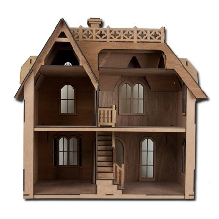 laser cut doll house - Google Search