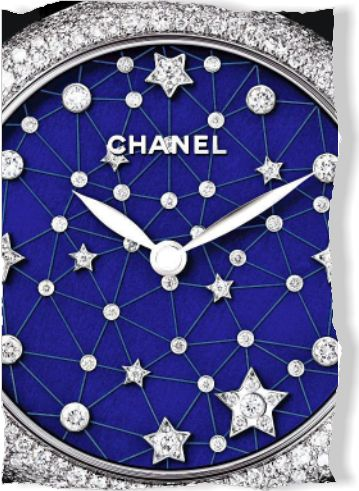 Chanel watch. Clipped from Marie Claire using Netpage.