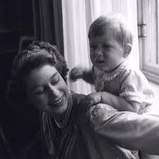 Cecil Beaton' s portrait of the Queen & Charles