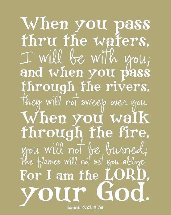 Isaiah 43:2-3a