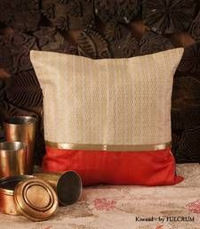Buy Cushion covers - Peach patch pillow-cover online