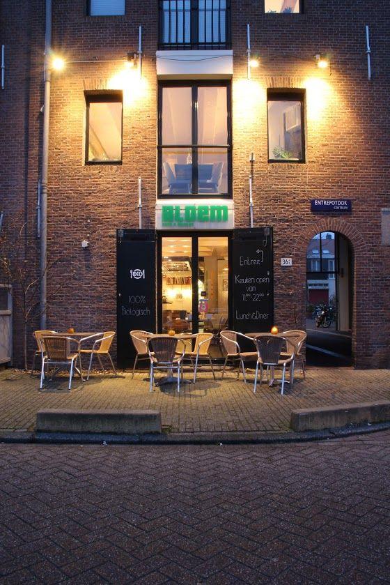 Restaurant Bloem eten en drinken Amsterdam biologisch puur uit eten entrepotdok