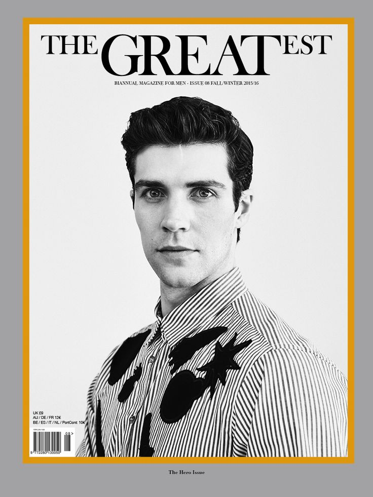 THE GREATEST #8 FALL/ WINTER 2015/16 THE HERO ISSUE PHOTO FRANCESCO BRIGIDA FASHION EDITOR MATTEO GRECO TALENT ROBERTO BOLLE MAKE UP LUCA CIANCIOLO Close Up Milano HAIR FRANCO CHESSA WM Management TOTAL LOOK MSGM OUT ON NEWSSTAND NOW!