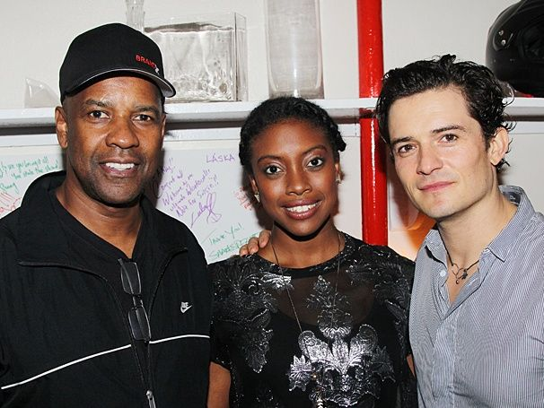 Denzel Washington declares his love for ROMEO AND JULIET, starring Orlando Bloom & Condola Rashad
