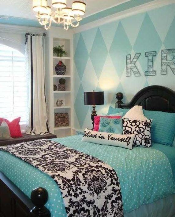 Cute bedroom idea. 37 best Bedrooms images on Pinterest   Bedroom ideas  Tiffany blue