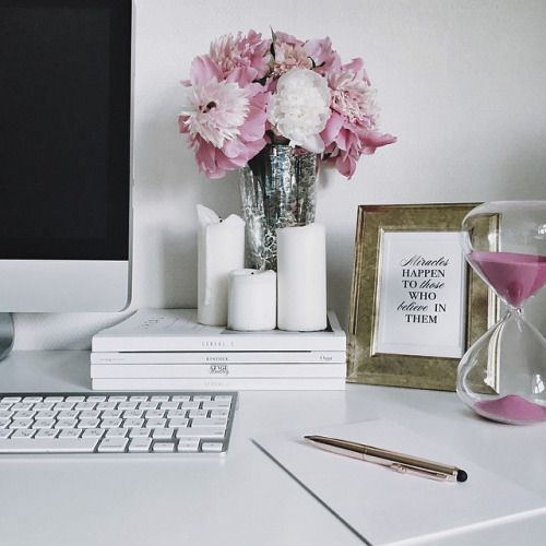 Chic Office Decor best 25+ womens office decor ideas on pinterest | desk accessories