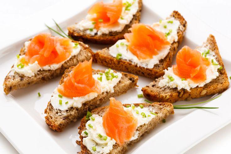 Recette healthy : tartine saumon-fromage-allégé