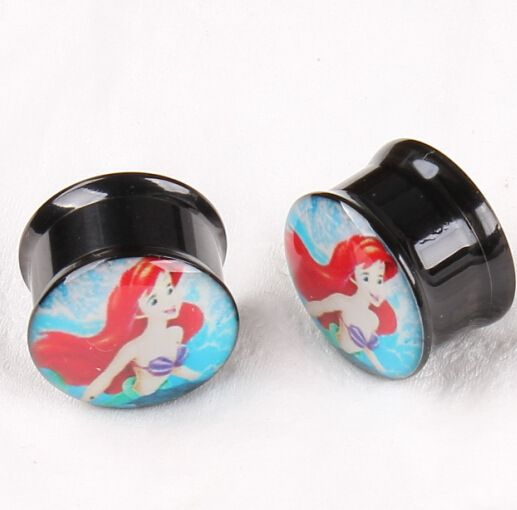 Cheap Body Jewelry, Buy Directly from China Suppliers:stainless steel piercing jewelry Mermaid toothless ear Expander expansion PLUGS tunnels percing tragus septum bijoux de