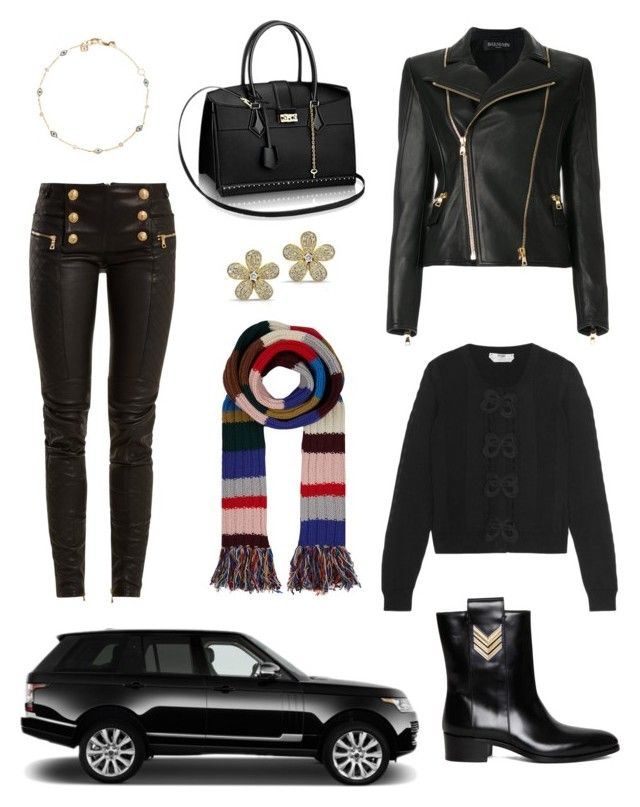 """""""Untitled #312"""" by joanna-tabakou on Polyvore featuring Burberry, Fendi, Dsquared2 and Balmain"""
