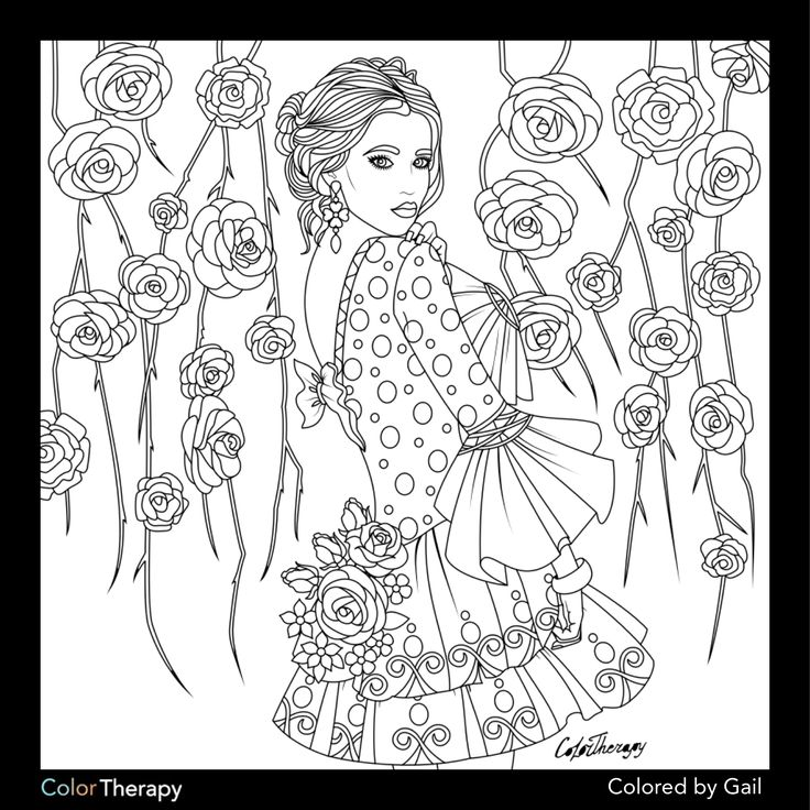 Coloring pages for adults app ~ I colored this myself using Color Therapy App. It was so ...