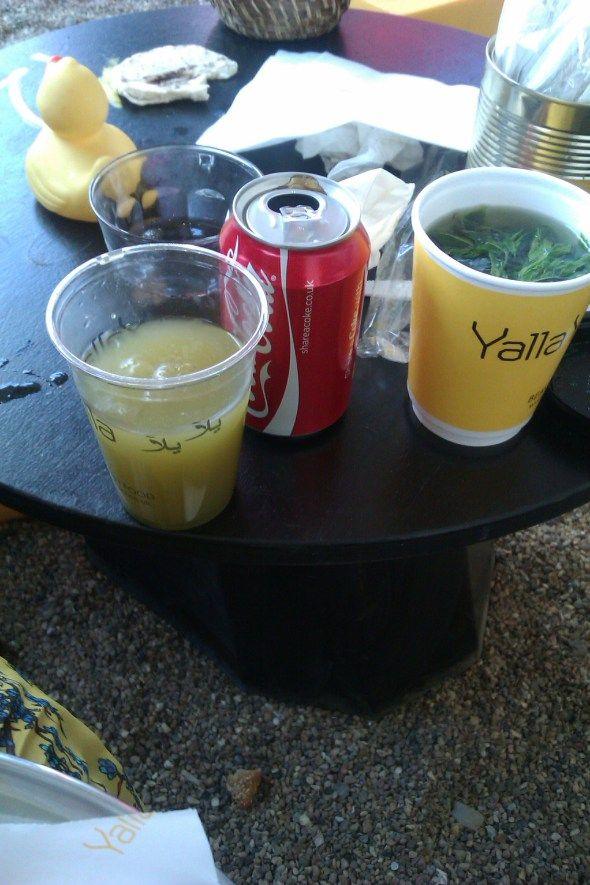 Lebanese mint lemonade