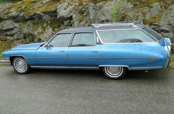 70s Station Wagons for Sale in Maryland | 1972 Cadillac Fleetwood Station Wagon For Sale Rear