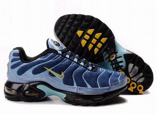 Nike Air Max TN Mens Blue Yellow Black