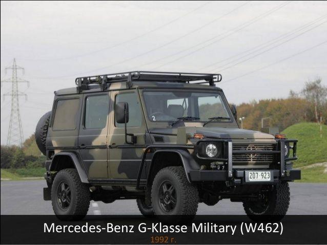 Mercedes Benz G Klasse Military W462 1992 г Mercedes G Wagen G Wagen