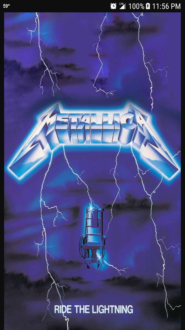 Ride The Lightning Rock N Roll In 2019 Metallica Albums