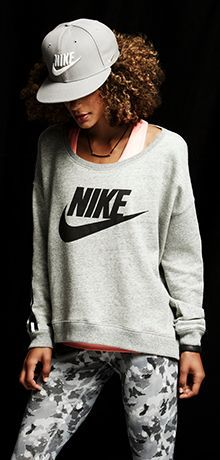 Grayed out. #nike #style I would ditch the hat