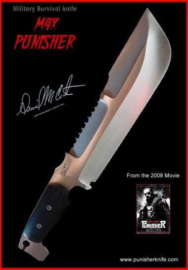 Tops Max Punisher Knife