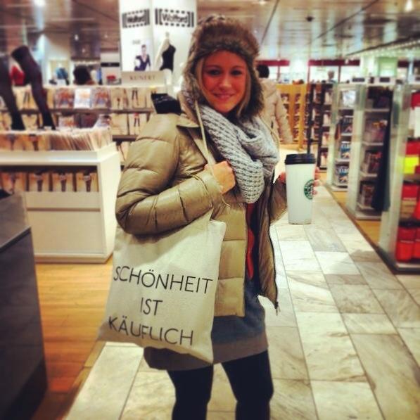 OCÓO Beauty-Shopper. Jute-Bag by SOUVE