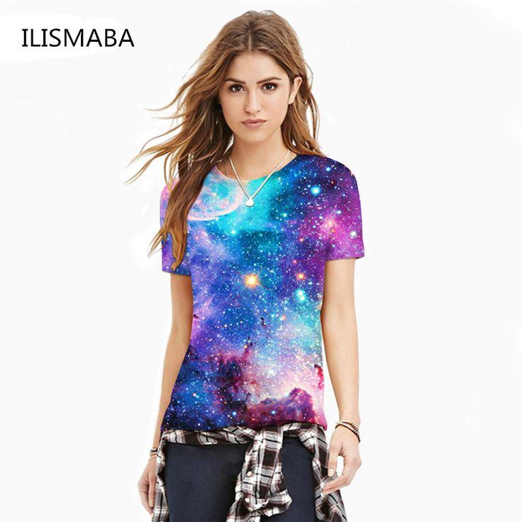 T-shirt blue sky digital print 3D short-sleeved women's shirt     BUY ONE HERE ==> https://giftsegment.com/t-shirt-blue-sky-digital-print-3d-short-sleeved-womens-shirt-girlfriend-gift-ideas/