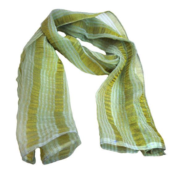 White Scarf With Golden Lines $19.99     Visit EpicMart.ca