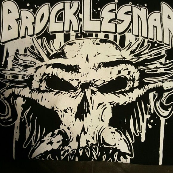 Wwe Authentic Gear Brock Lesnar T Shirt