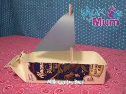 Milk carton boat