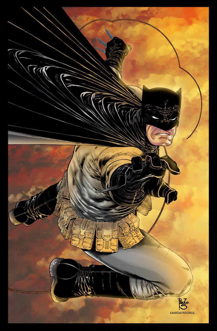 Batman DK Colors by CrisstianoCruz