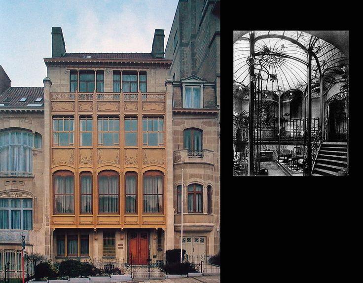 Victor Horta. Hotel Van Eetvelde - Bruxelles 1895 - 1900