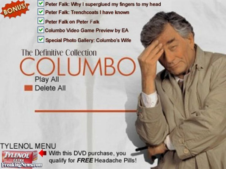 images of columbo tv show | Columbo TV Series on DVD! Pictures - Freaking News