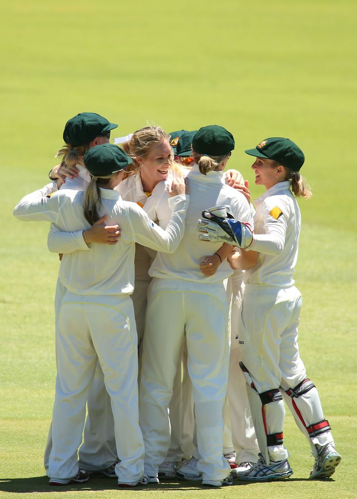 Australian Women's Cricket Team play at the WACA